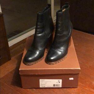 Coach Odelle calfskin Chelsea boots